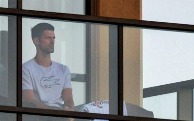 Top Tennis players locked down in 5 star hotels