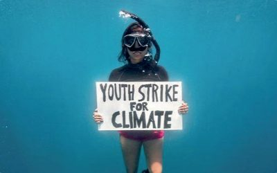 First Ever Underwater Protest
